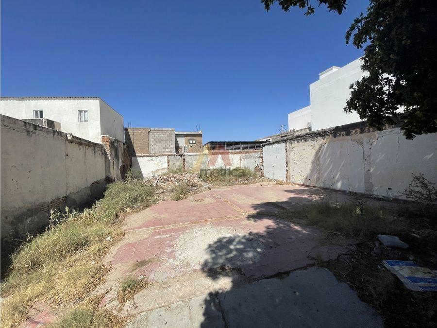 terreno comercial 230 m2 en el centro de hermosillo