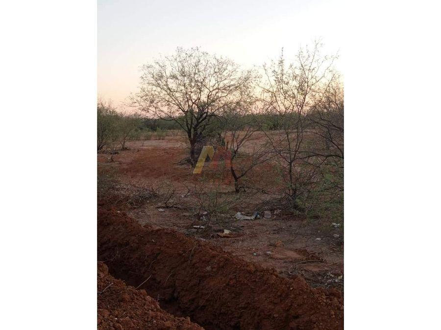 venta terreno ubicado en calle navojoa final