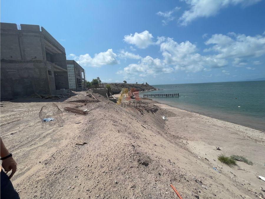 lote residencial a la orilla de playa en bahia de kino sonora