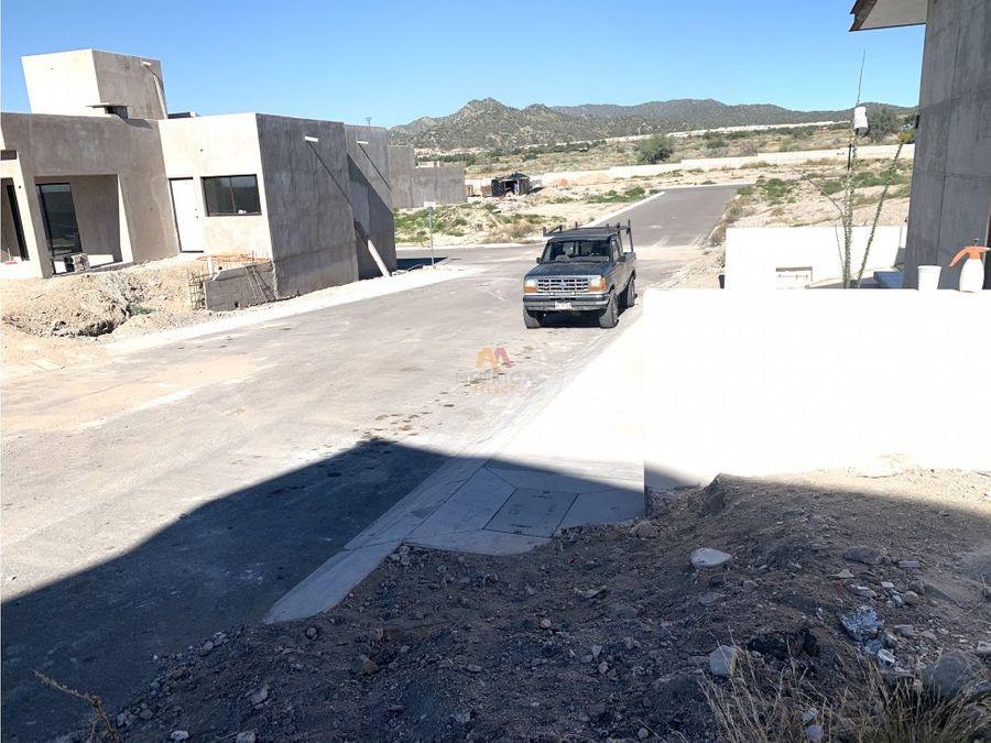 terrenos residenciales en ibiza hermosillo norte