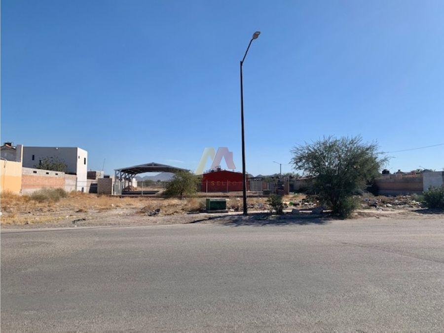 terreno comercial 912 m2 fracc oasis blvd solana en hermosillo