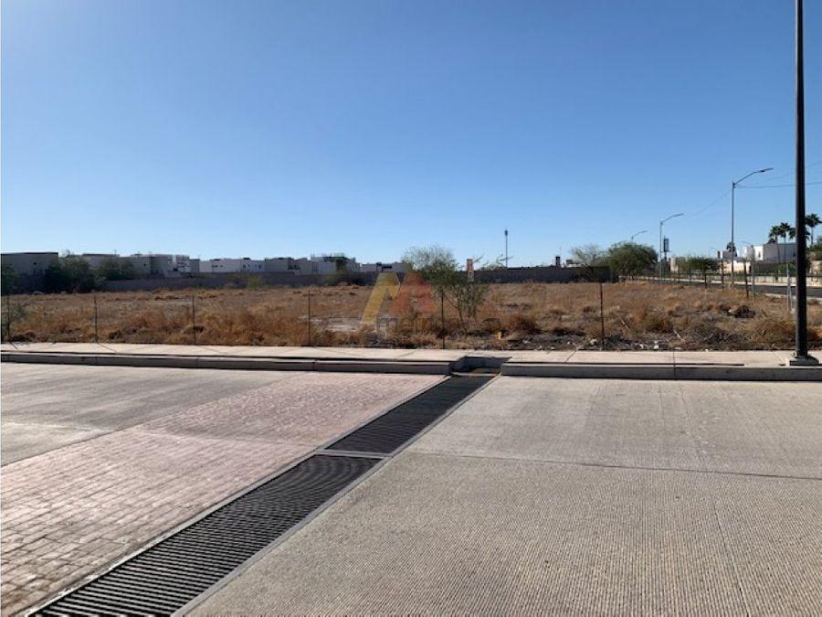 terreno comercial 7000 m2 blvd navarrete y quinta emilia hermosillo