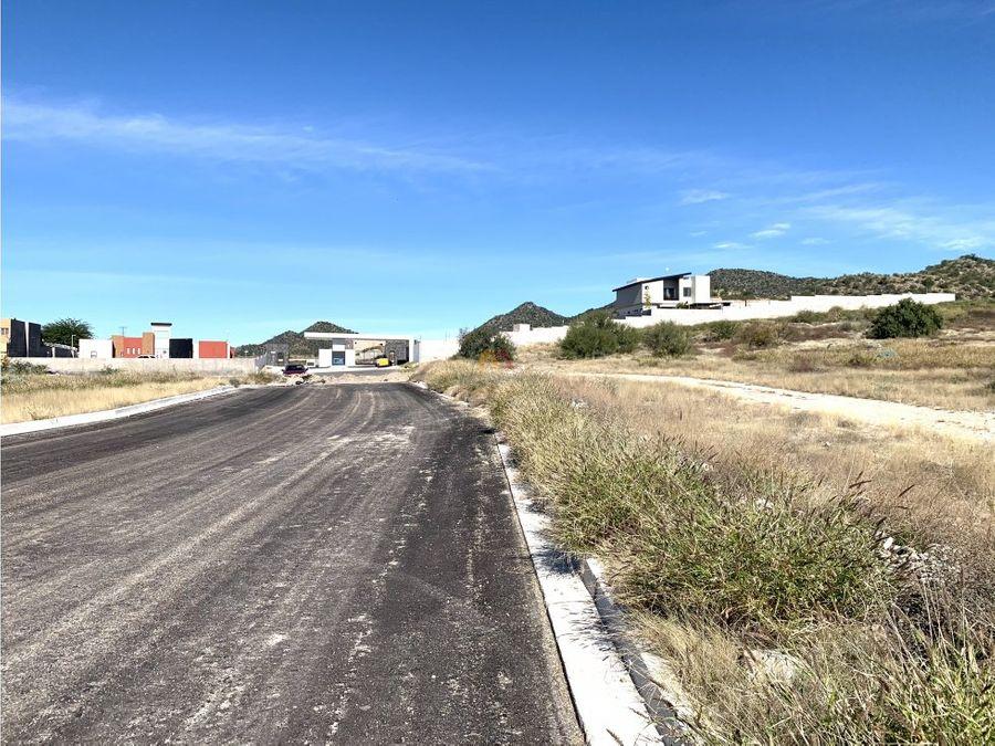 terreno habitacinal de 3000 m2 colinas del bachoco