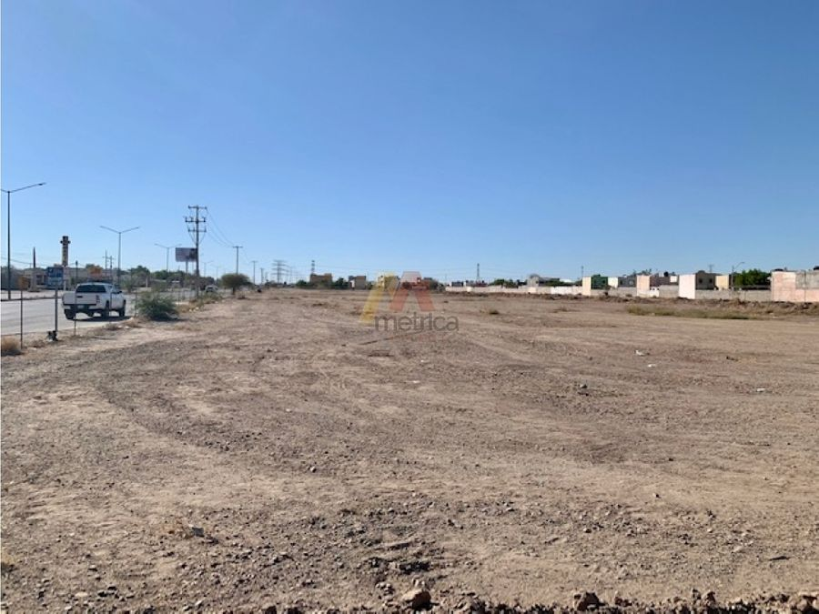 terreno de 45120 m2 uso mixto blvd camino del seri en hermosillo
