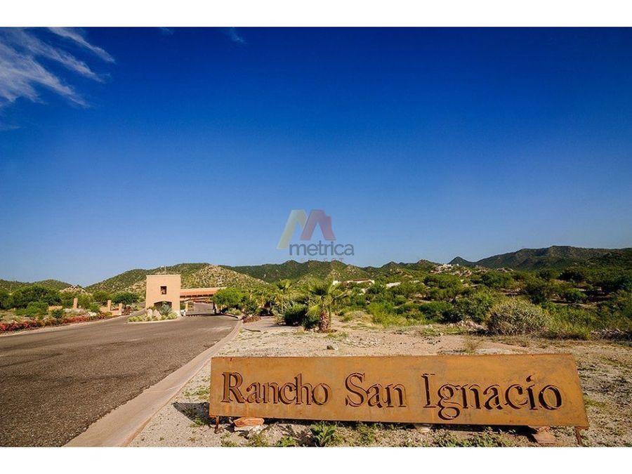 terreno venta rancho san ignacio nuevo norte 2007 m2