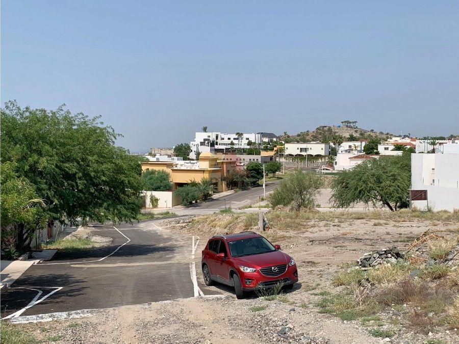 terreno residencial 472 m2 en lomas altas hermosillo