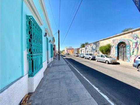 hermosa casa antigua ubicada en el centro de la ciudad de hermosillo