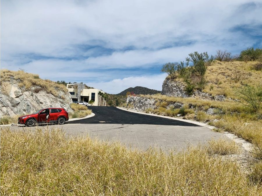terreno residencial de 725 m2 en la canada hermosillo