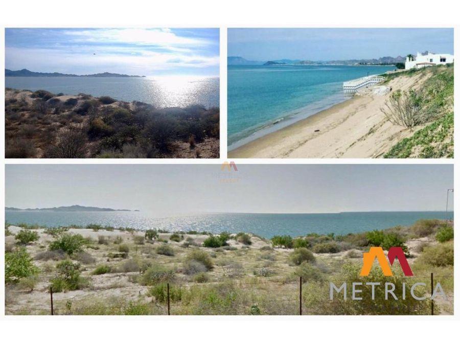 lotes en la playa de bahia de kino punta peninsula kino