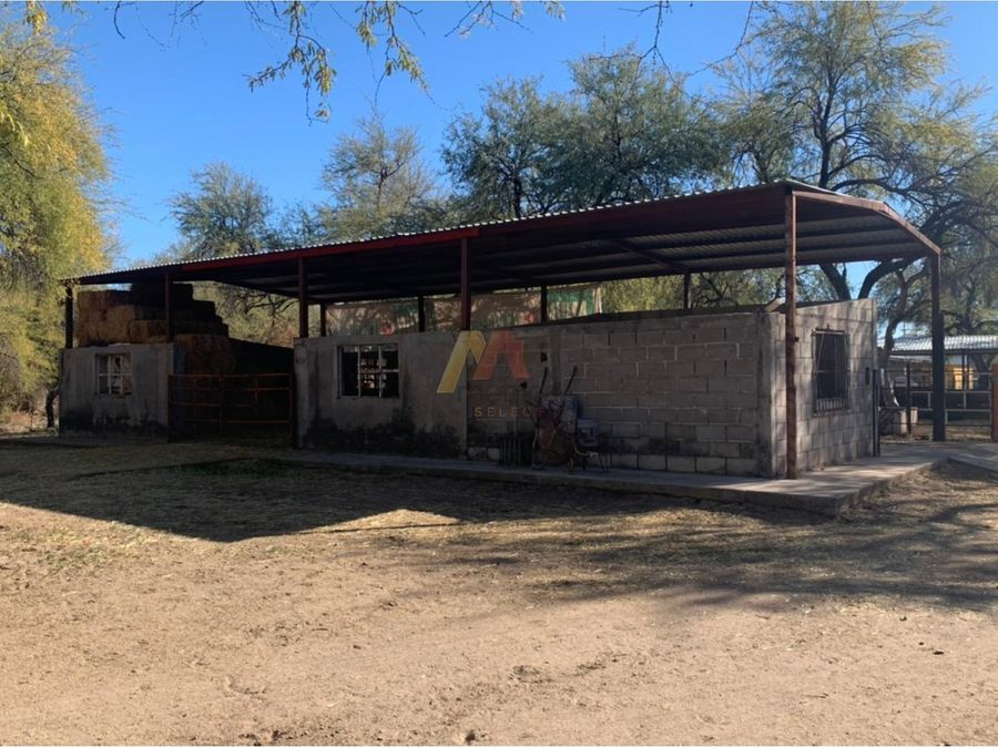 rancho de 17 has con pozo y luz en san miguel de horcasitas
