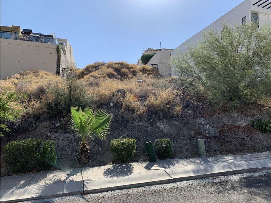 terreno residencial de 327 m2 en el pedregal hermosillo