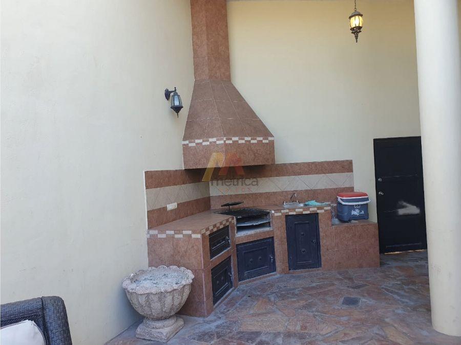 casa de renta en villa sol