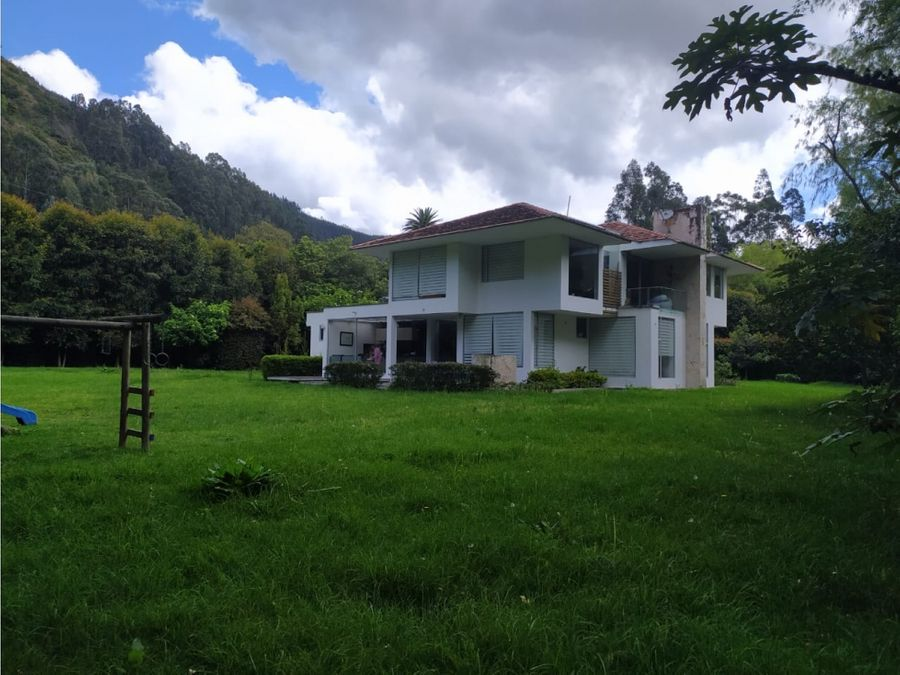 vendo hermosa casa en cajica tabio