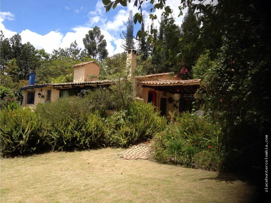 vendo espectacular casa en tabio cundinamarca