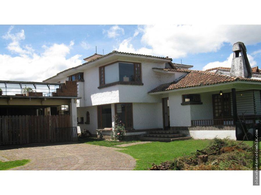 vendo casa en chia cundinamarca
