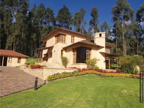 espectacular casa de campo en briceno