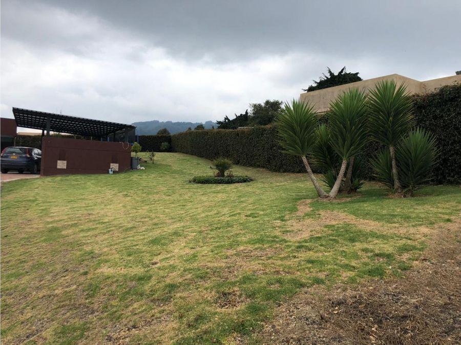 arriendo casa con gran vista al valle de sopo en yerbabuena sopo