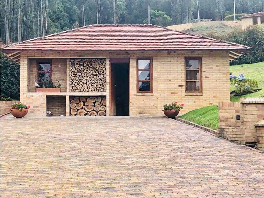vendo espectacular casa de campo en briceno