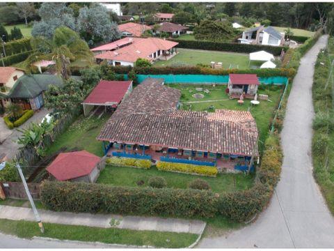 casa en tapia sector llanogrande
