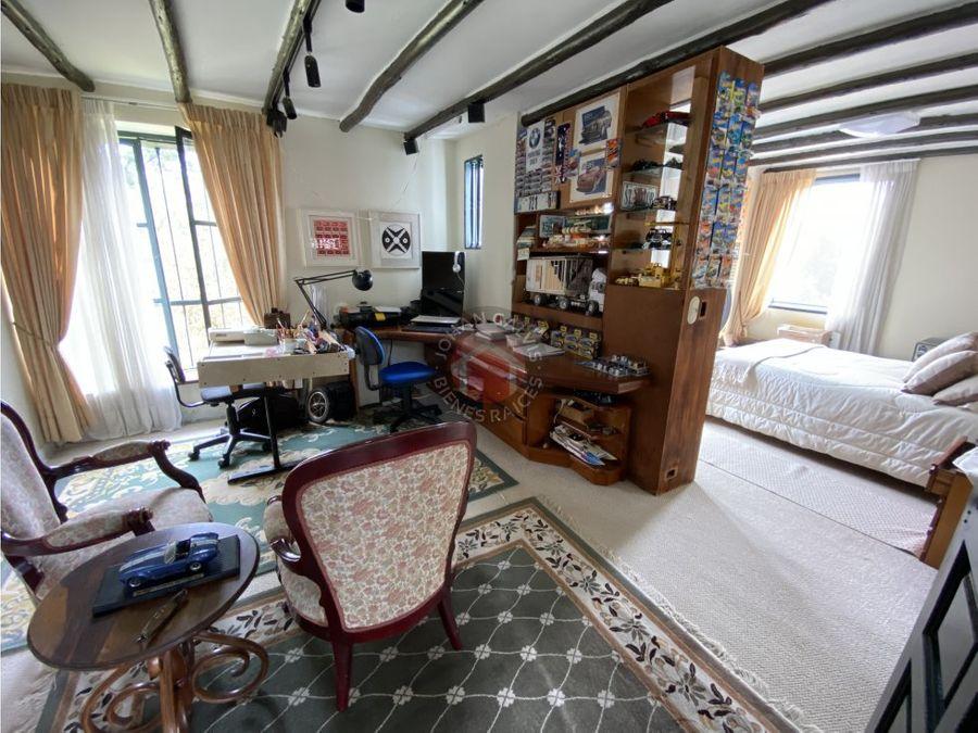 casa en chia con vista para la venta