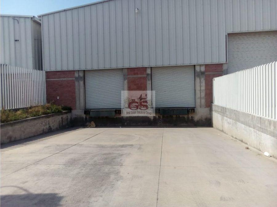bodega en renta el vergel industrial celaya