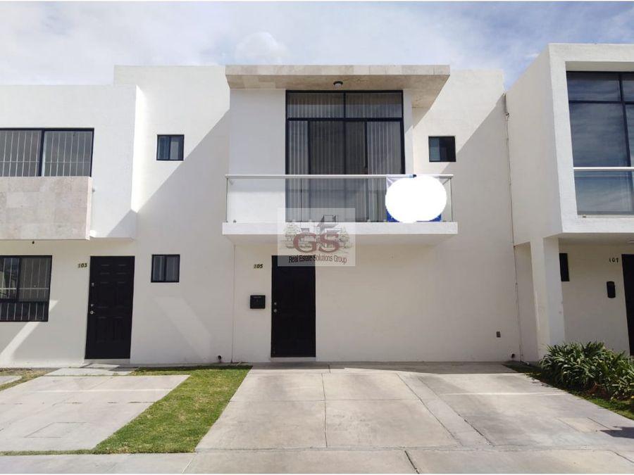 casa en renta la cantera residencial celaya gto