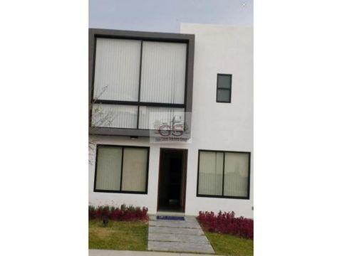 casa en renta alteza residencial celaya