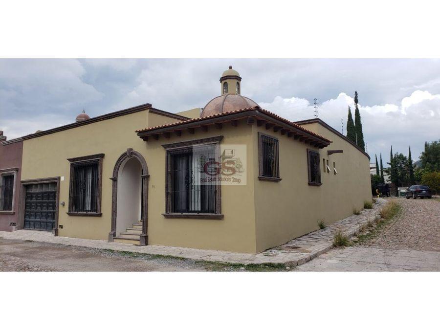 casa en renta pueblo antiguo san miguel allende