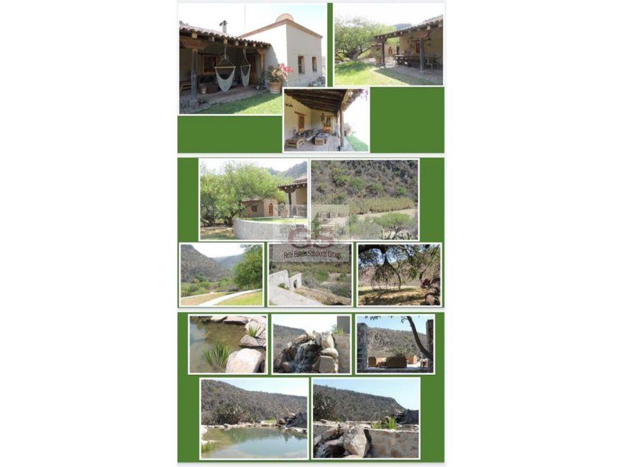 rancho en renta cerca de las huertas san miguel allende