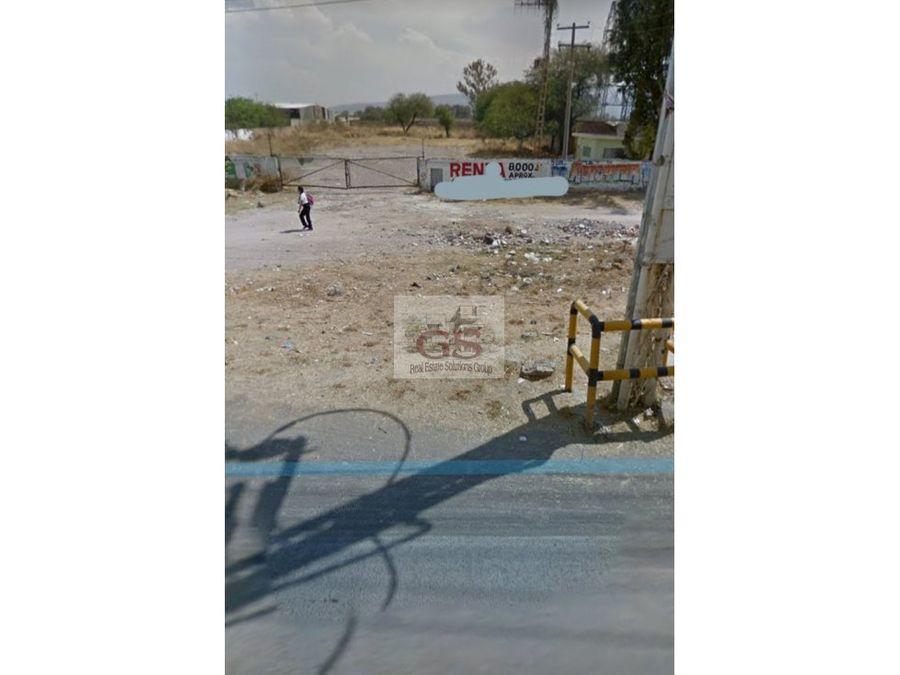 terreno en renta avenida constituyentes celaya