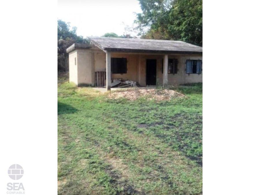 en venta finca con amplio terreno y casa ubicado en santa isabel