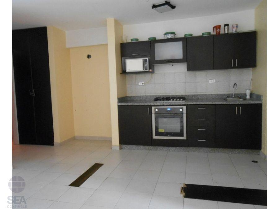 en venta acogedor apartamento tipo estudio en residencias bayona