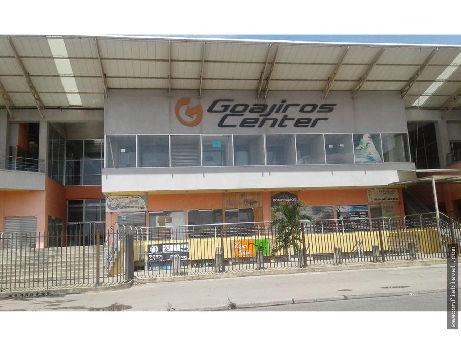 venta local comercial cc los guajiros center