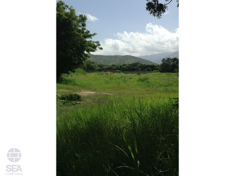 terreno ubicado en yagua variante barbula san diego