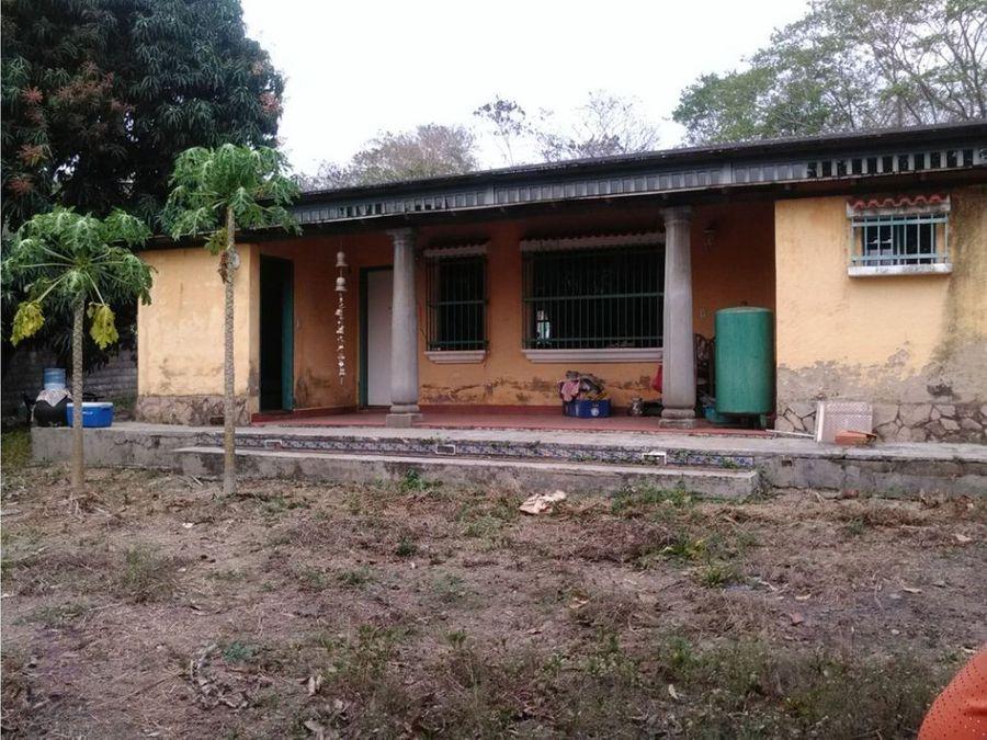 amplio terreno con bienhechuria en san diego sector las josefinas