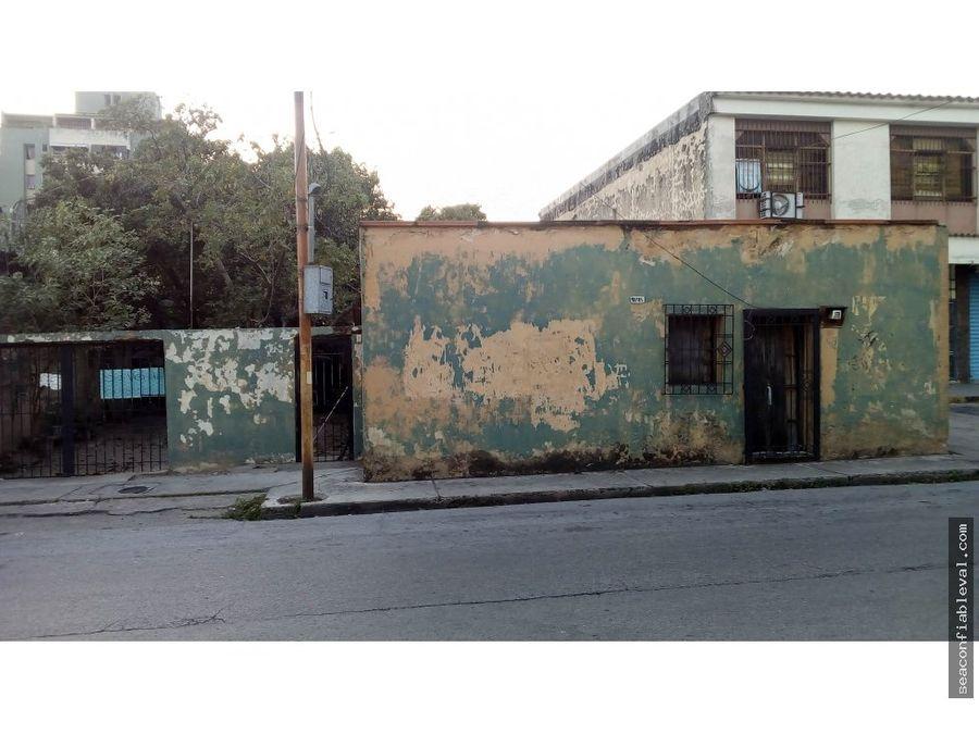 venta terreno y casa av bolivar naguanagua