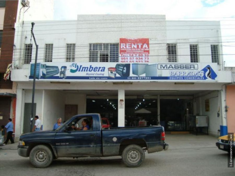 local renta tuxtla 9 sur