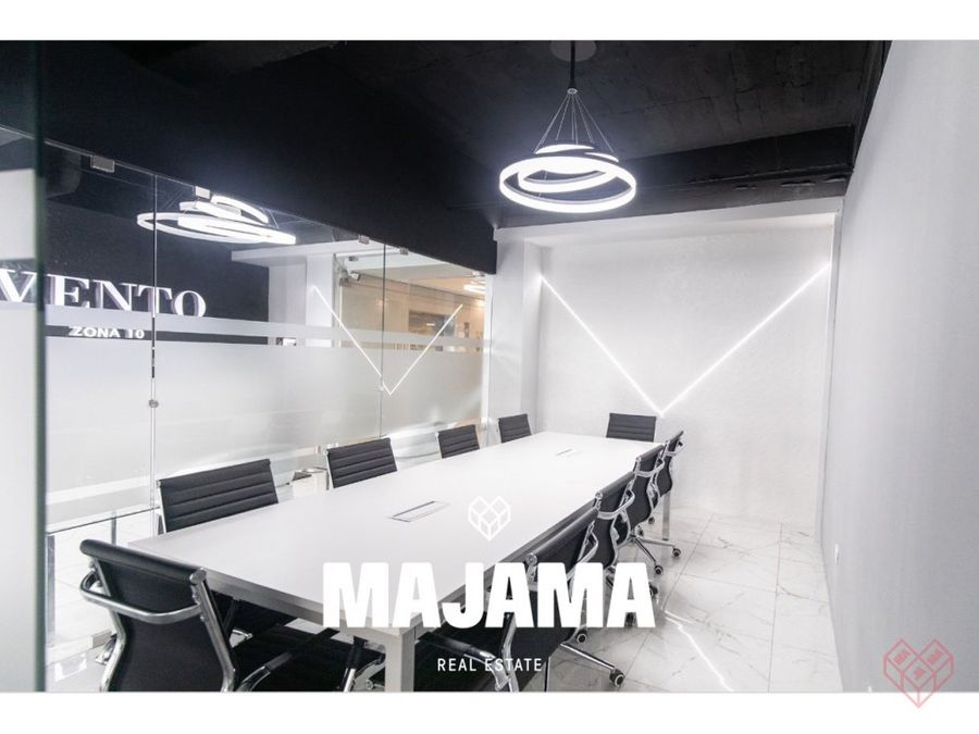 zona 10 edificio geminis rento oficinas