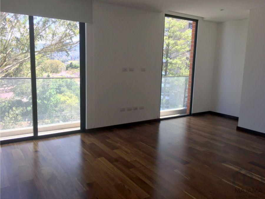 zona 14 vendo amplio y exclusivo apartamento