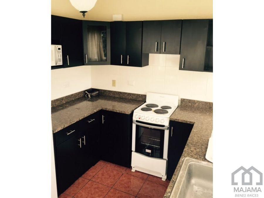 zona 13 vistalago rento apartamento amoblados
