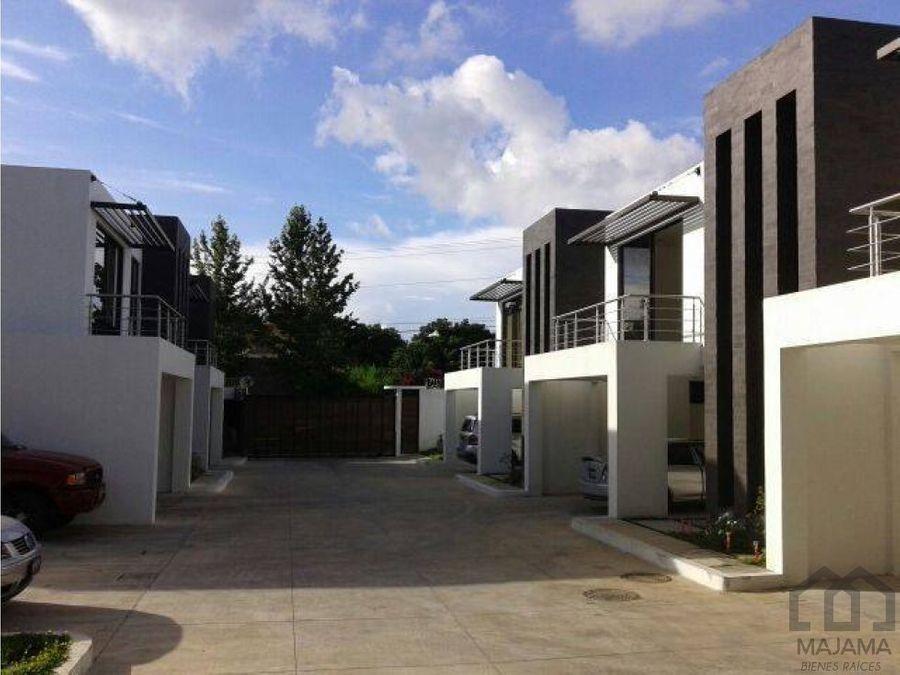 zona 16 rento modernas casas