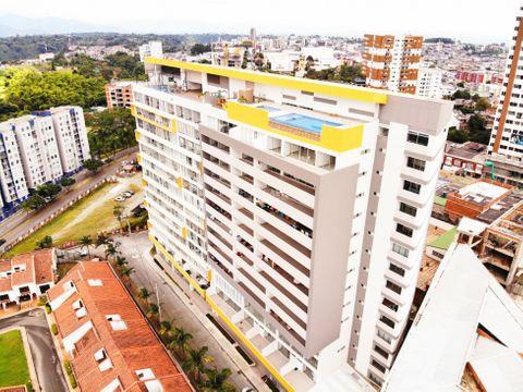 venta de apartamento vista armenia 84 mts2