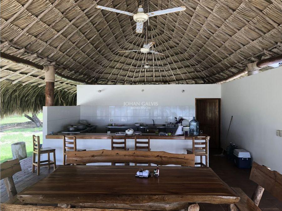 venta casa en isla tintipan golfo de morrosquillo