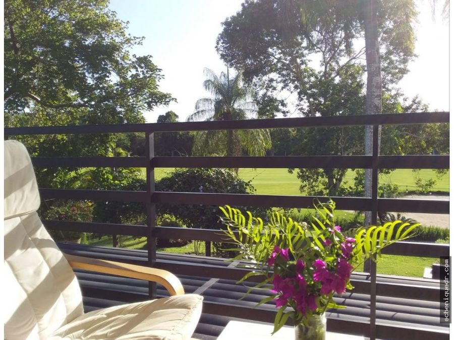 apartamento frente al campo de golf en guavaberry