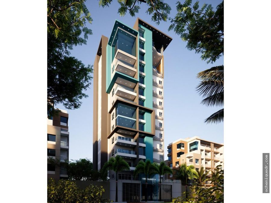 exclusiva torre de apartamento en alma rosa i