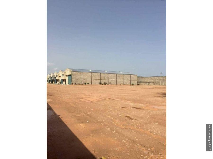 terreno de 4000 m2 en la morita i maracay
