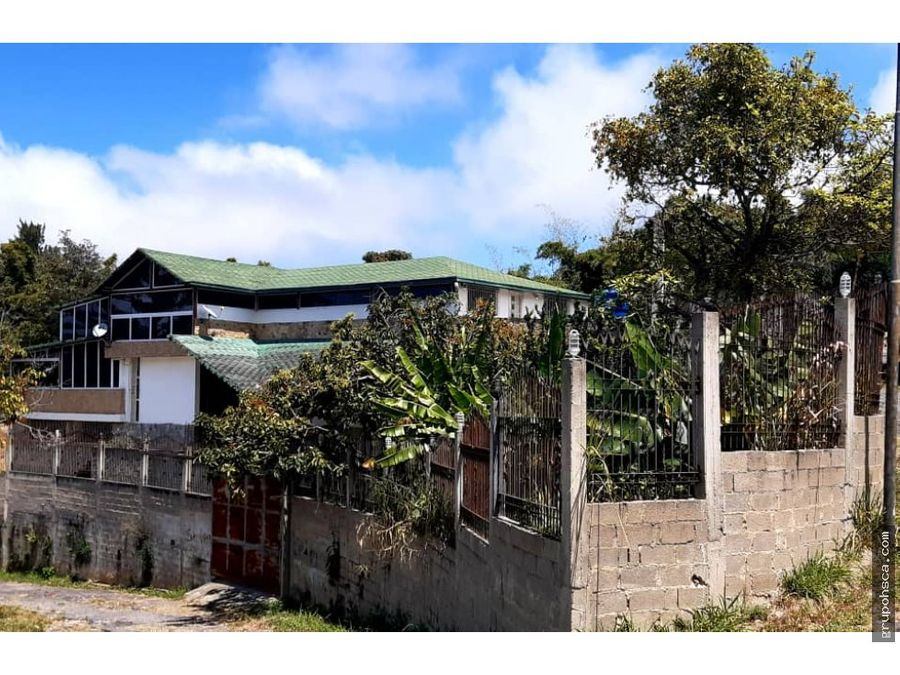 casa en venta junco country club el junquito