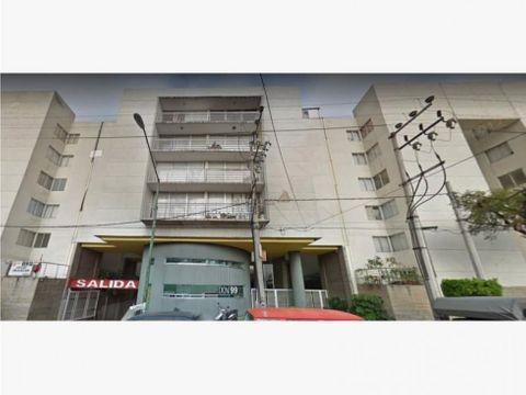 venta de remate bancario departamento en lorenzo boturini mx20 iw3049