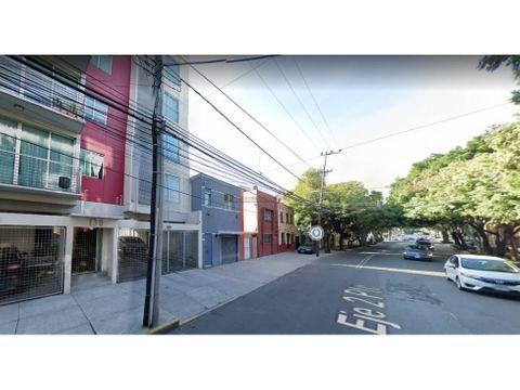 venta remate bancario departamento en del valle centro mx21 js4558