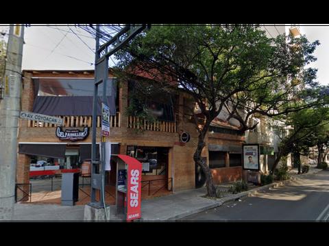 local comercial tlacoquemecatl esq av coyoacan remate